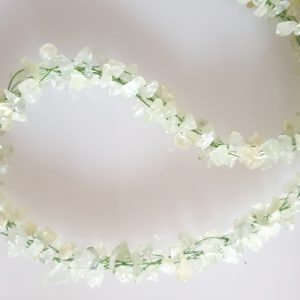 Green Agate Kumahimo Woven Necklace